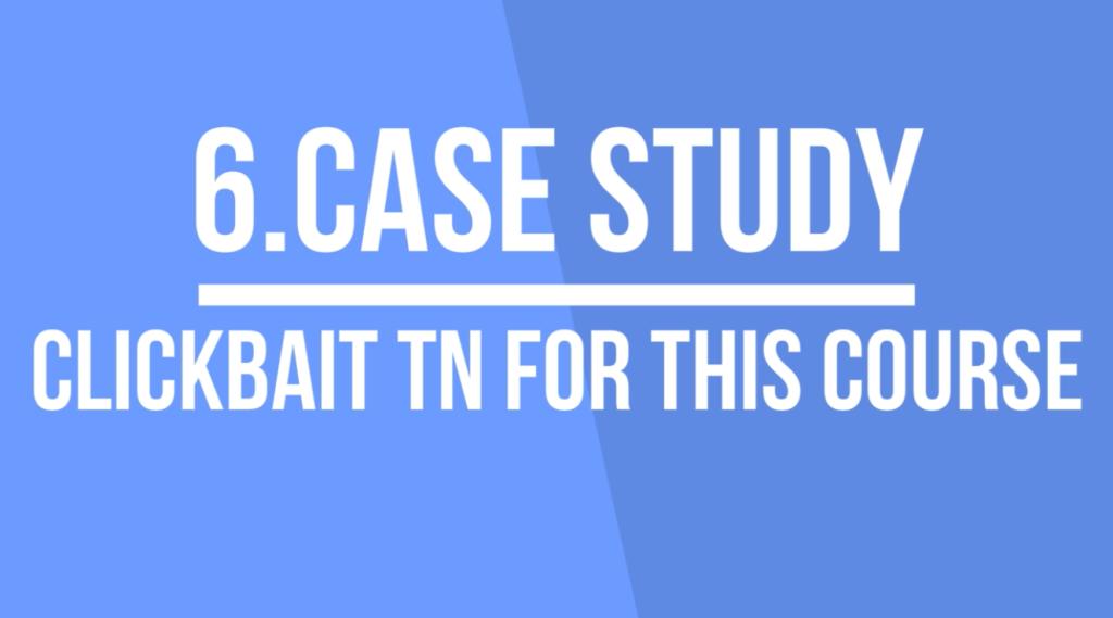 clickbait thumbnails case study